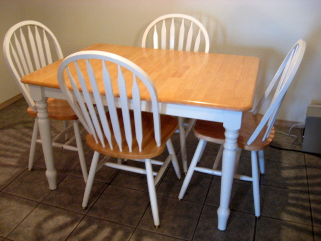 what to do with old kitchen table