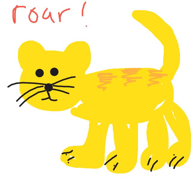 Draw Something - Tiger