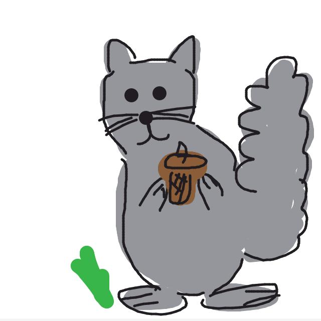 Draw Something - Squirrel