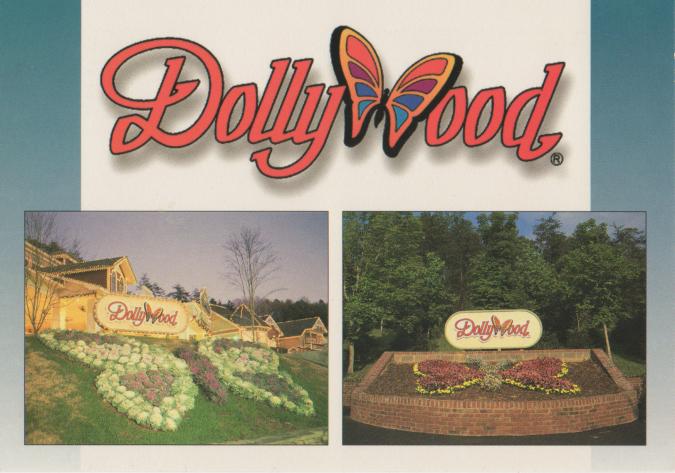 dollywood postcard